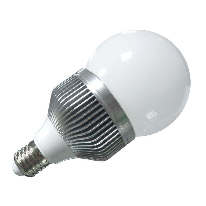 Ampoule E27 LED ballon,  10W, Blanc froid